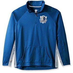 Dallas Mavericks 1/4 Zip Pullover NWT S